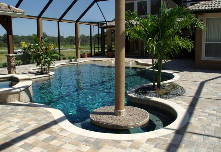 Pool Builder - New Port Richey, FL - New Pool Photos - Grand Vista Pools