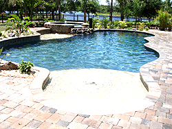 New Swimming Pool Construction, Installation - Grand Vista Pools