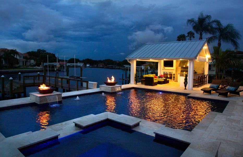 New Port Richey Pool Builder, Contractor, Remodeling, Outdoor Kitchens