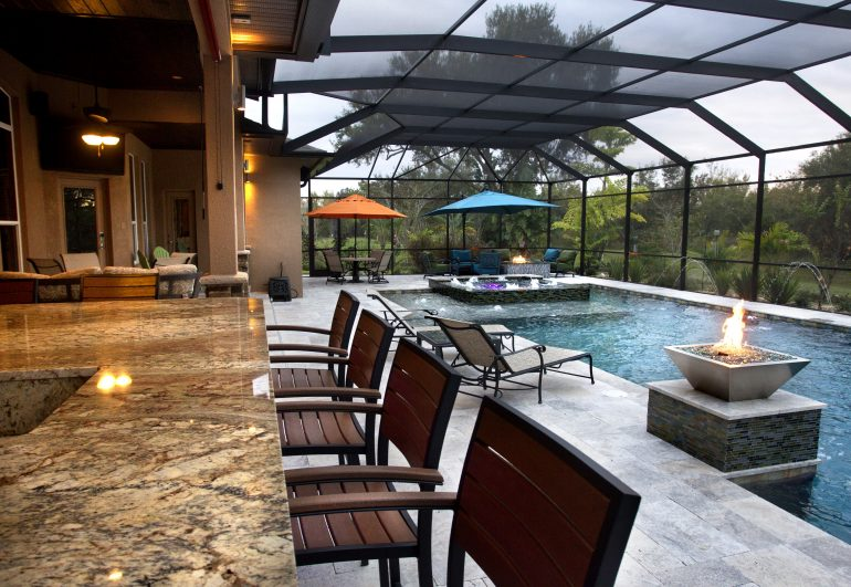 Trinity Pool builder, Contractor, Remodeling, Outdoor Kitchens
